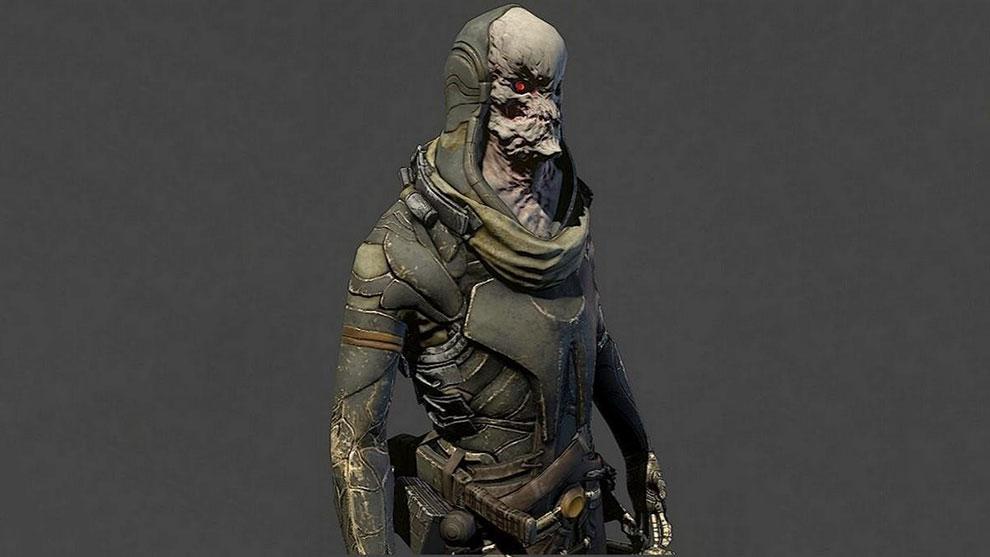 مدل سه بعدی کاراکتر زامبی Zombie Guard