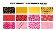 پروژه افترافکت زمینه متحرک انتزاعی Abstract Backgrounds Pack