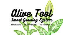 پروژه افترافکت ابزار ساخت انیمیشن رشد گیاه Alive Tool Growing System