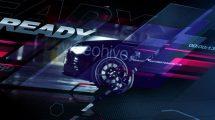 پروژه افترافکت افتتاحیه با خودرو Auto Vision