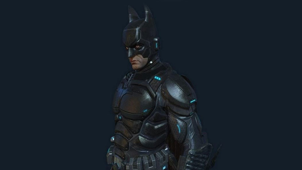 مدل سه بعدی کاراکتر بتمن Batman