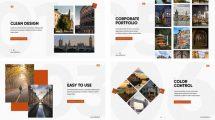 پروژه افترافکت پرزنتیشن شرکتی Clean Corporate Presentation
