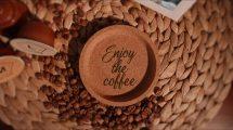 پروژه افترافکت تیزر تبلیغاتی اسلایدشو با قهوه Coffee Slideshow Promo