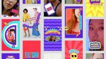 پروژه افترافکت مجموعه استوری رنگارنگ Colorful Stories Pack