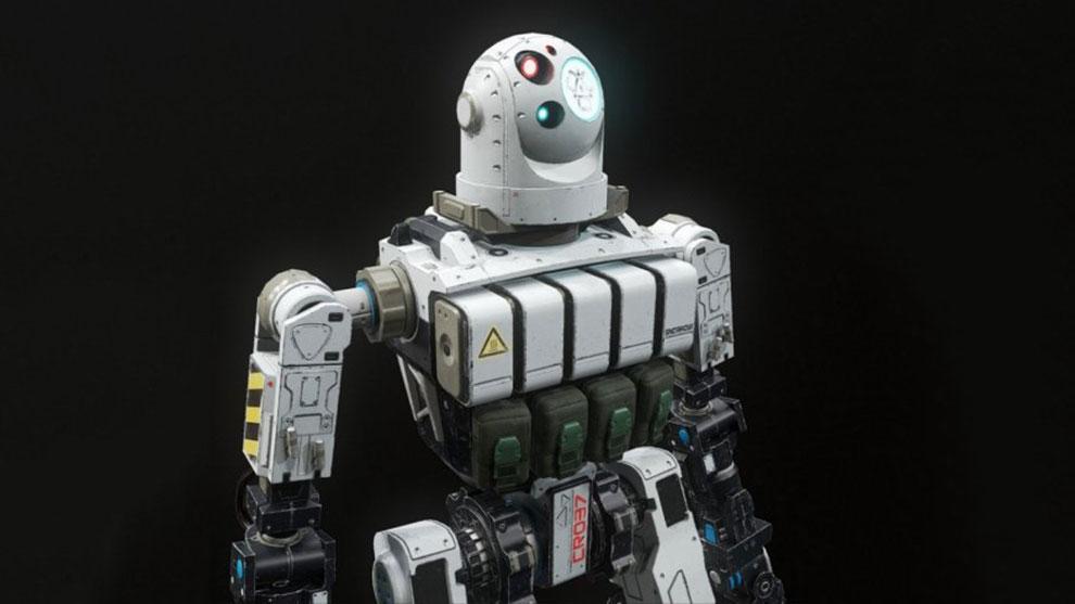 مدل سه بعدی ربات سرباز Combat Robot