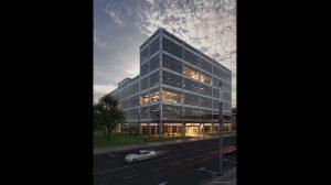 مدل سه بعدی ساختمان اداری Contemporary Office Building