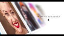 پروژه افترافکت اسلایدشو خلاقانه Creative Slideshow