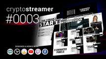 پروژه افترافکت استریم آنلاین Cryptostreamer