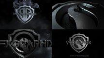 پروژه افترافکت نمایش لوگو Dark Shield Logo