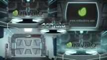 پروژه افترافکت نمایش لوگو هایتک Door Logo Reveal