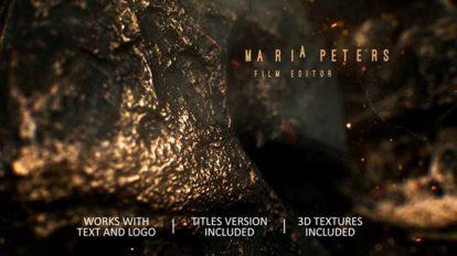 پروژه افترافکت نمایش لوگو حماسی Epic Trailer and Logo Reveal