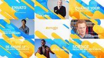 پروژه افترافکت تیزر تبلیغاتی همایش Event Promo