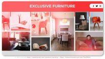 پروژه افترافکت پرزنتیشن طراحی داخلی Exclusive Interiors Presentation