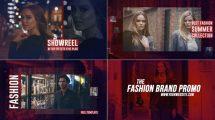 پروژه افترافکت تیزر تبلیغاتی فشن Fashion Brand Promo