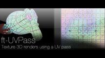 پلاگین افترافکت ft-UVPass ابزار تکسچر آبجکت
