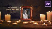 پروژه افترافکت مراسم ترحیم Funeral Memorial