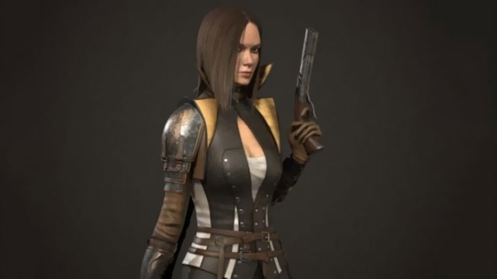 مدل سه بعدی کاراکتر جنگجو زن Girl Warrior