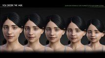 مجموعه مدل سه بعدی دختر Growing up for Genesis 8 Female