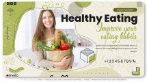 پروژه افترافکت تیزر تبلیغاتی رژیم غذایی Healthy Food Diet Promo
