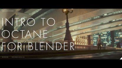 آموزش کار با اکتان رندر در بلندر Intro to Octane Render in Blender