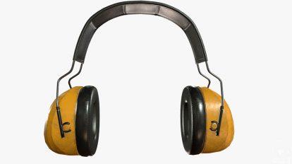 مدل سه بعدی محافظ گوش صنعتی Industrial Earmuffs