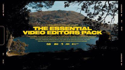 مجموعه فوتیج افکت های ویدیویی Essential Video Editors Pack