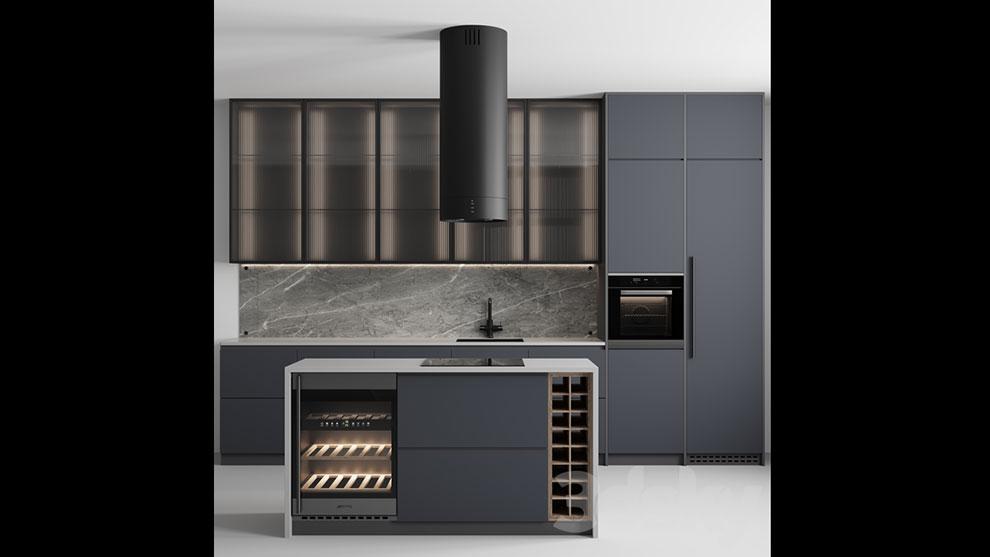 مدل سه بعدی آشپزخانه مدرن Kitchen No.28