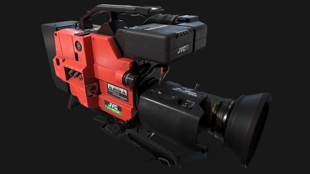 مدل سه بعدی دوربین فیلمبرداری KY-210B Camera