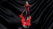مدل سه بعدی مجسمه کاراکتر کمیک Scarlet Witch Statue