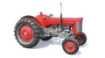 مدل سه بعدی ماشین کشاورزی Massey Ferguson 65