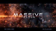 پروژه افترافکت تریلر حماسی Massive Impact Teaser
