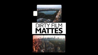 مجموعه فوتیج مت فیلم Dirty Film Mattes
