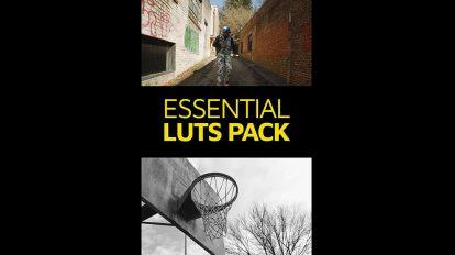 مجموعه پریست رنگ فیلم Master Filmmaker Essential Luts Pack