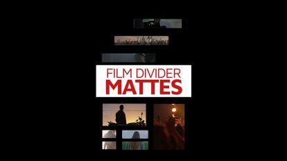 مجموعه تصاویر مت جداکننده ویدیو Divider Mattes
