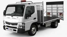 مدل سه بعدی کامیون میتسوبیشی Mitsubishi Fuso Truck 2016