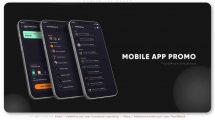 پروژه افترافکت تیزر تبلیغاتی اپلیکیشن موبایل Mobile App Promo M1