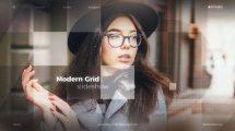 پروژه افترافکت اسلایدشو مدرن Modern Grid Slideshow