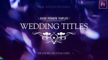 پروژه پریمیر مجموعه نمایش عناوین Wedding Titles Premiere Pro
