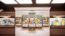 پروژه افترافکت اسلایدشو گالری و موزه Museum and Art Gallery Slideshow