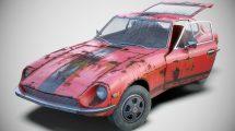 مدل سه بعدی ماشین قدیمی Old Classic Coupe