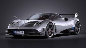 مدل سه بعدی خودرو پاگانی Pagani Huayra BC 2016