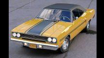 مدل سه بعدی خودرو قدیمی Plymouth GTX 1970