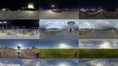 مجموعه تصاویر آسمان Poliigon HDRI Sky Collection