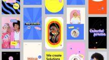 پروژه افترافکت مجموعه استوری پاپ آرت PopArt Stories Pack