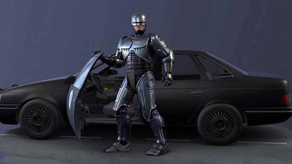 مدل سه بعدی پلیس آهنی Robocop Scene and Pose Set