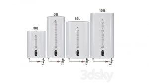 مجموعه مدل سه بعدی آبگرمکن Set Water heater Electrolux