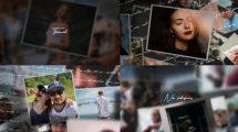 پروژه افترافکت اسلایدشو عکس Slideshow My Life