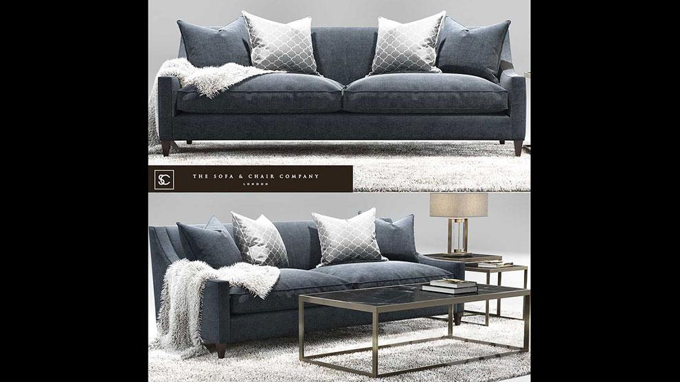 مدل سه بعدی ست مبل The Sofa Chair Company
