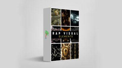 مجموعه فوتیج ویژوال برای موزیک رپ Rap Visual Elements