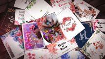پروژه افترافکت اسلایدشو دعوت عروسی Wedding Invitation Slideshow